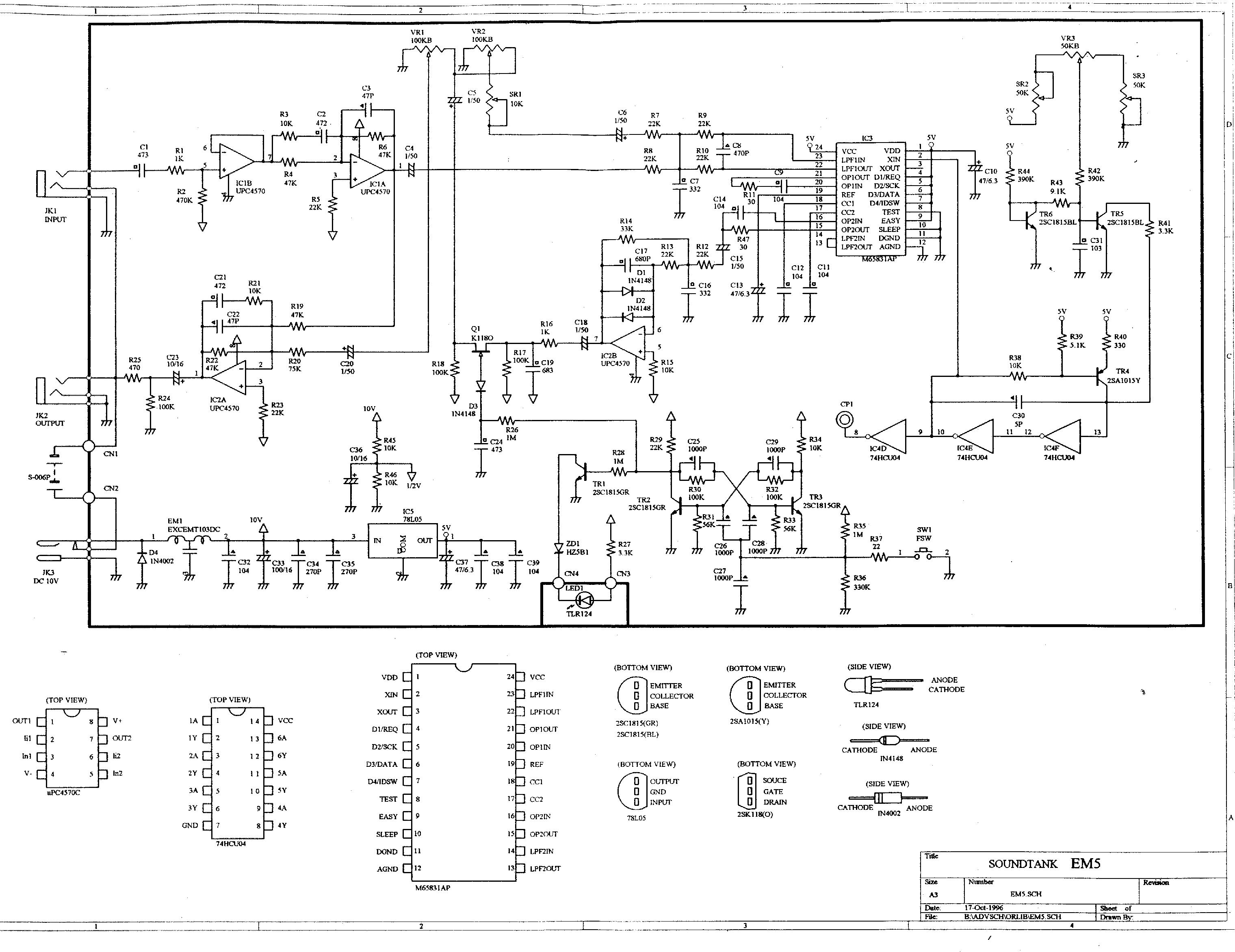 Ibanez Em5 Echo Machine Effects Database